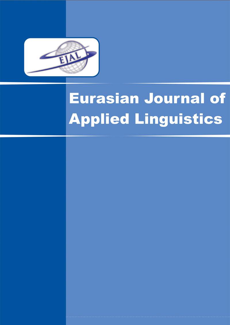 View Vol. 7 No. 2 (2021): Eurasian Journal of Applied Linguistics